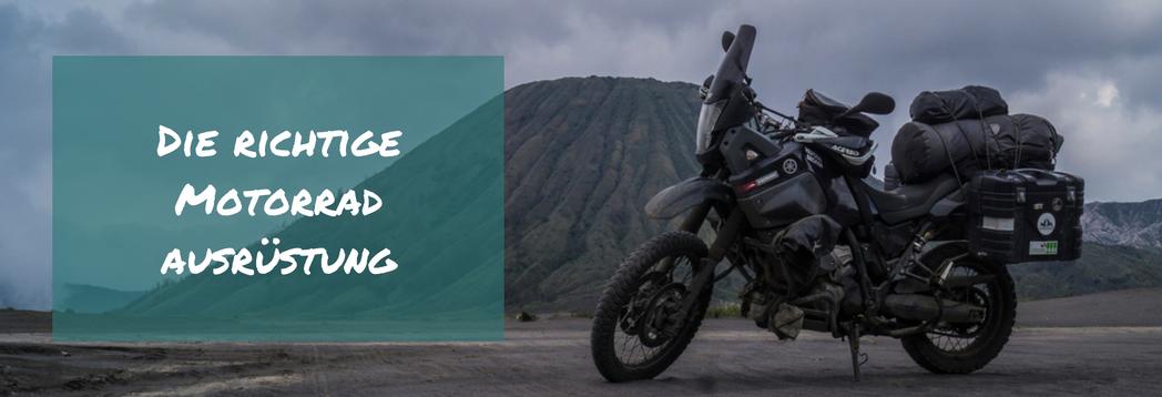 finde die richtige motorradausrüstung