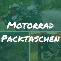 Packtaschen für Motorradreisen