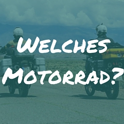Motorrad für Weltreise