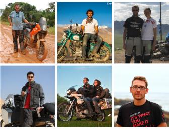 8 Motorrad Weltreisende verraten Dir ihre Traumstraßen
