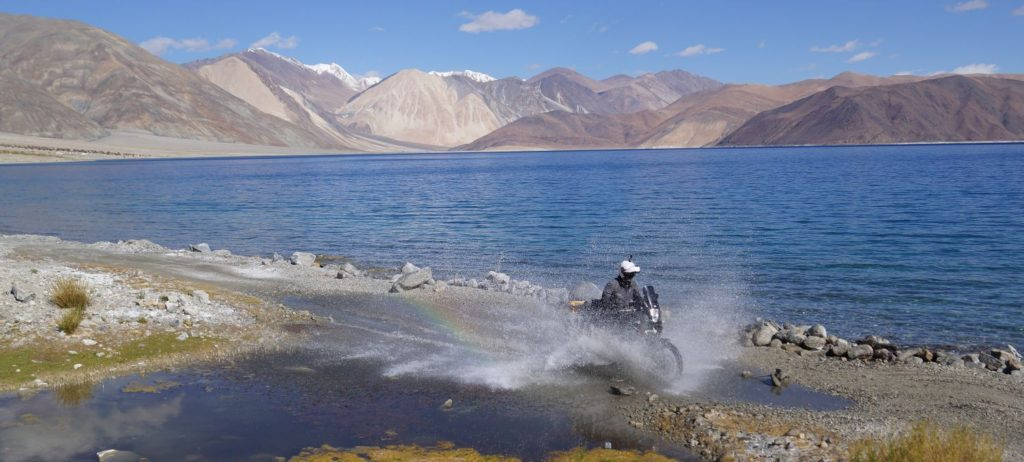 Motorrad Weltreise Ladakh