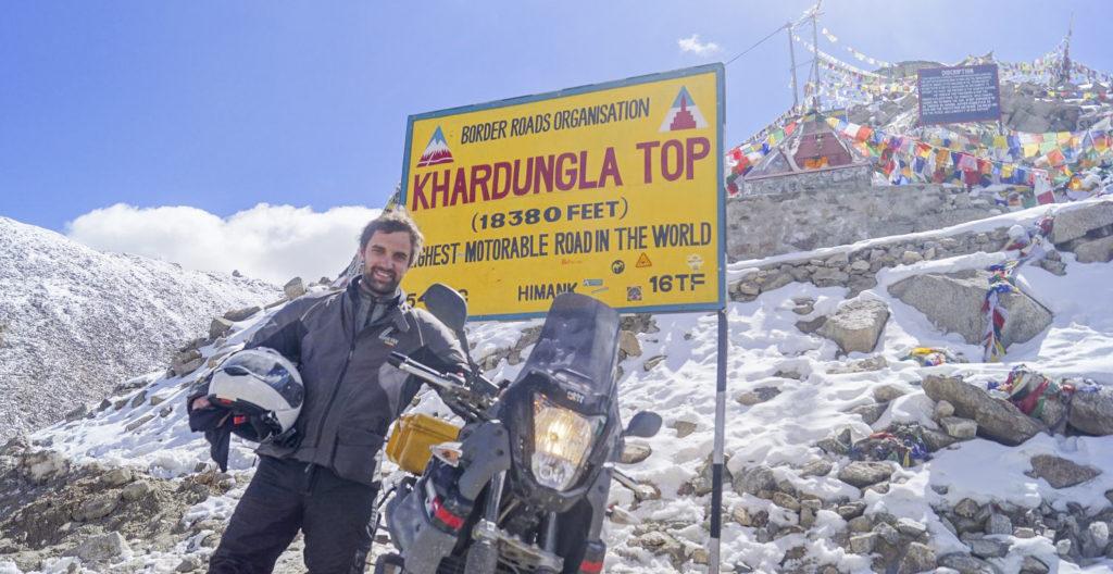 Ladakh Motorrad Weltreise