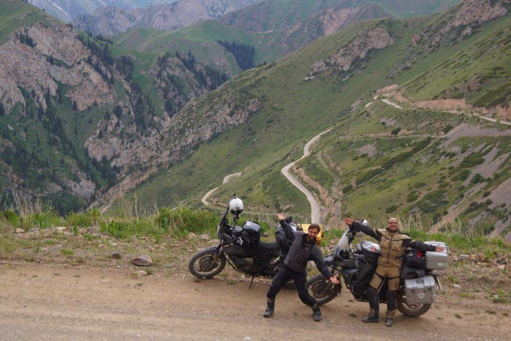 Motorrad Weltreise Kirgistan