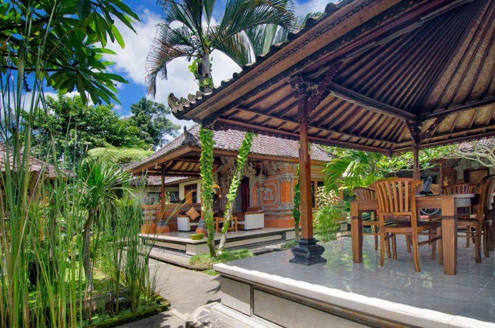 Pajar House in Ubud - läuft.