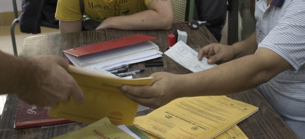 Grenzübertritt in Myanmar: nicht ohne Carnet de Passage!