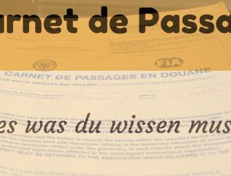 Carnet de Passage: alles was Du wissen musst