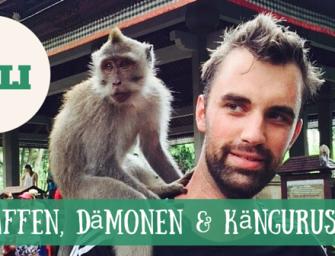 Bali: Affen, Dämonen und Kängurus