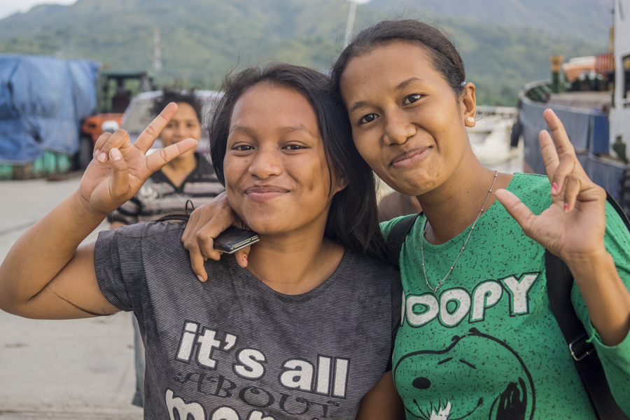 Happy People in Flores