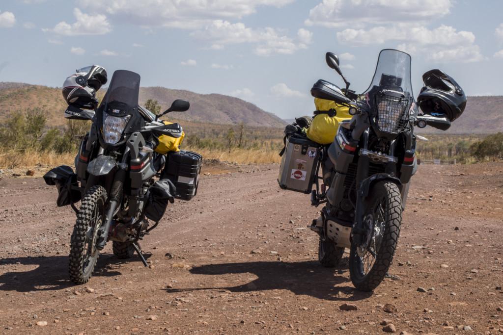 Motorradkoffer an Yamaha Teneres