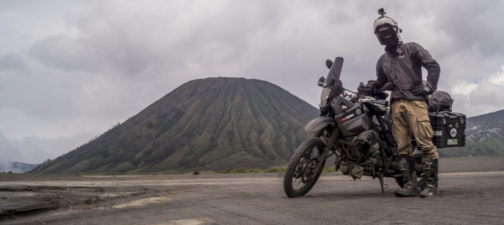 Vulkan Test bestanden - Ténére vor dem Mount Bromo