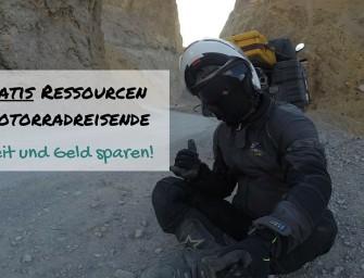27 gratis Ressourcen für Motorradreisende, die Zeit und Geld sparen