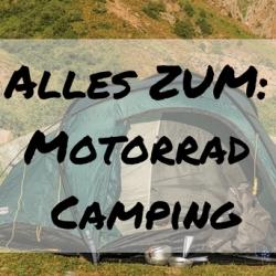 Motorrad Camping