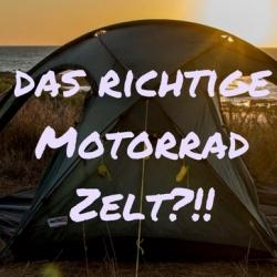 Motorrad Zelt