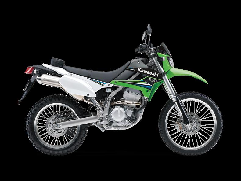 leichte Reiseenduro Kawasaki
