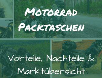 Motorrad Packtaschen: Vorteile, Nachteile & Marktübersicht