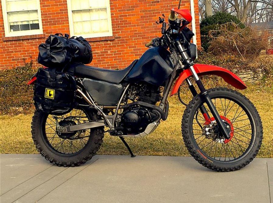 Motorrad Packtaschen Wolfman