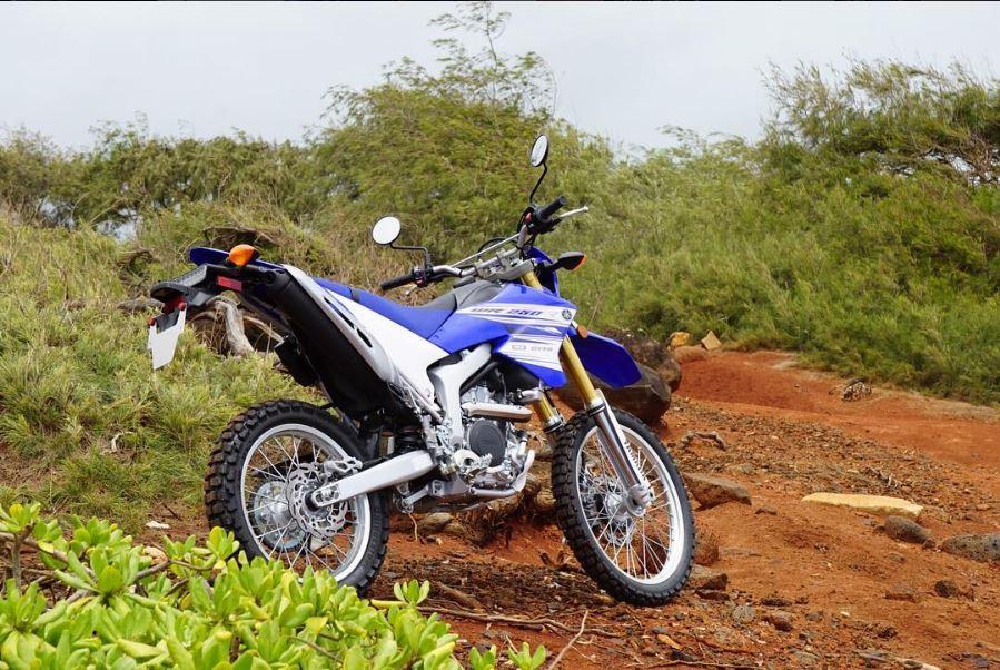 leichte Reiseenduro Yamaha