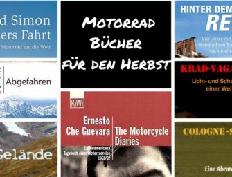 Motorrad Bücher für den Herbst