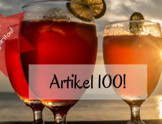 Zeit für Margaritas: Artikel 100!
